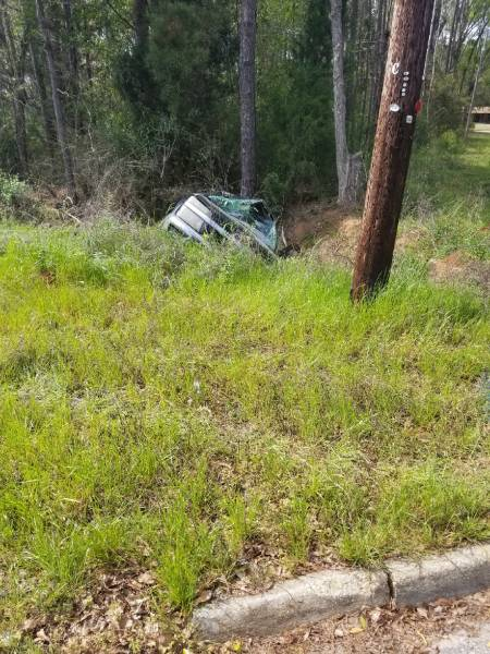 Single Vehicle Accident in Rehobeth