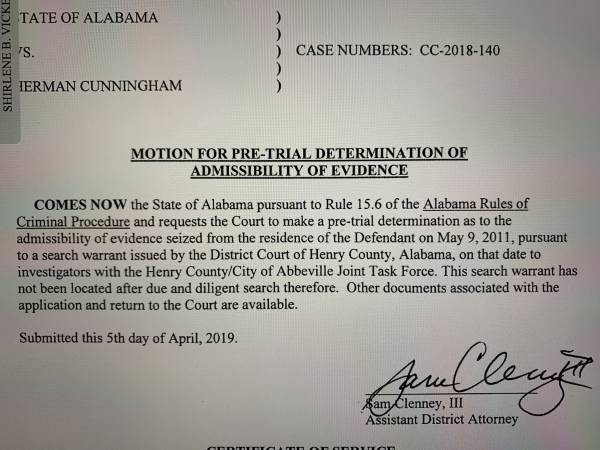 HENRY COUNTY Three Judges Have Dockets Only One Main Courtrooom - Capital Case Scheduled