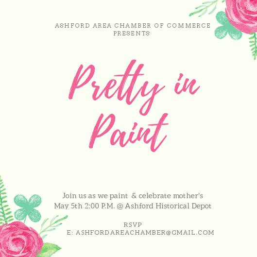 Ashford Chamber of Commerce to Host Pretty in Paint