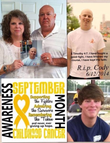 Cody Haye's Caring Legacy Continues