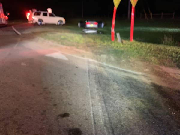 3:06 AM   Two Vehicle Accident Highway 84 West and County Road 49