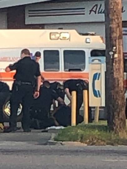 7:52 PM   Two Dothan Police Officers Injured - One With Broke Hand or Arm and One With Broken Leg - ATTACKED