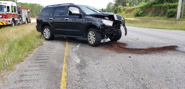 12:56 PM... Motor Vehicle Accident at Montgomery Hwy and Barrington Road