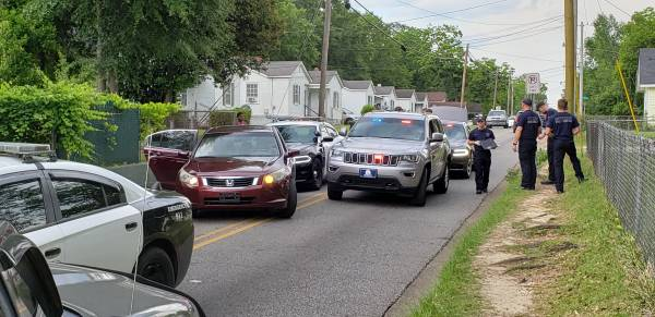 Traffic Stop Ends in K-9 Apprehention on East Selma