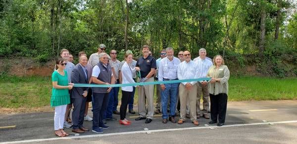 Area Leaders Host Ribbon Cutting Ceremony for New Paved Trail