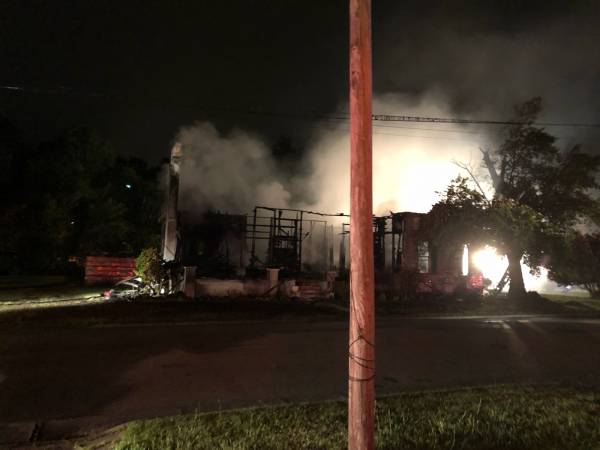 Hartford Structure Fire - Patient Receives Severe Burns - Slocomb - Bellwood and Wicksburg Roll