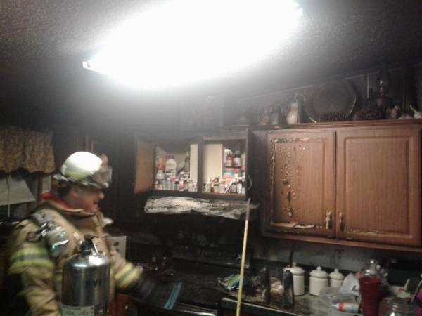 5:00 AM... Kitchen Fire at 355 Billy Snell Road