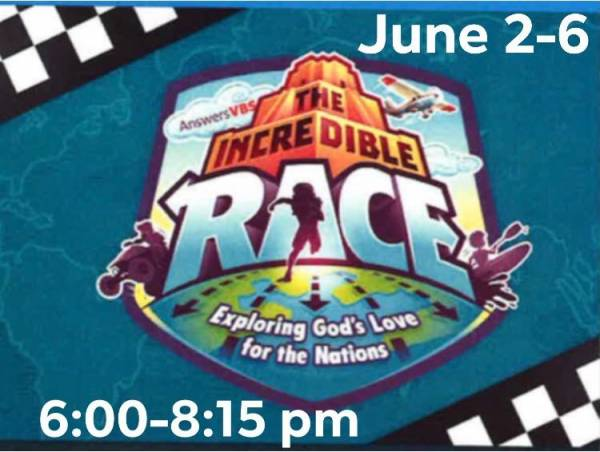 Come Join Us for VBS at FBC Headland Beginning Tomorrow Night!