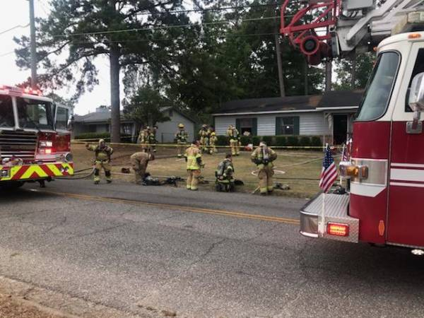 4:49 PM.. Structure Fire at 1604 Alexander Drive