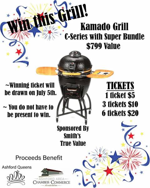 Enter To Win Kamado Grill C-Series