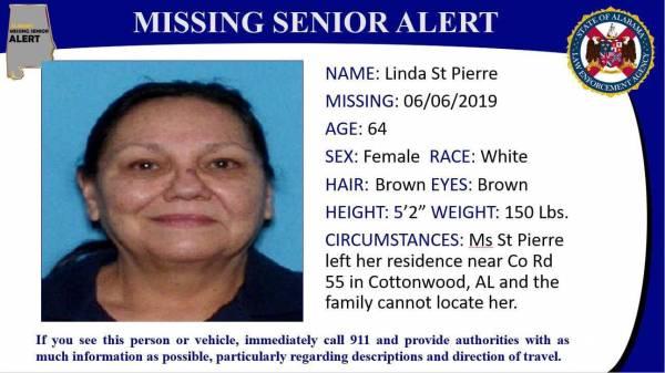 Official Missing Senior Alert