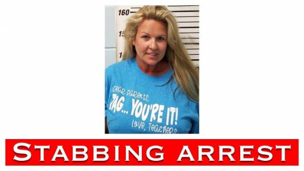 Woman Arrested for Stabbing Husband