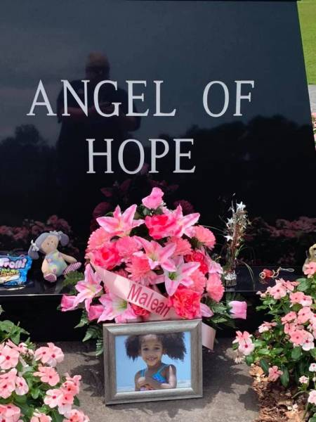 Maleah Davis, 4 years old , from Houston, Texas Remembered At The Angel Of Hope In Dothan