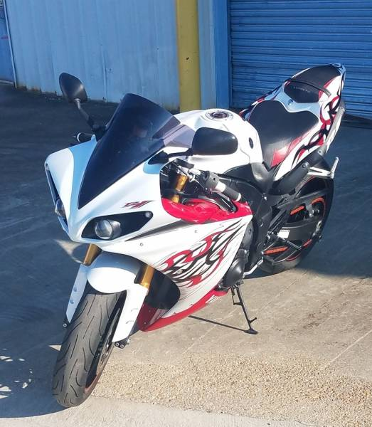 Reward Offered for Stolen Motorcycle