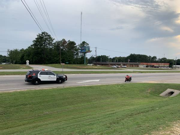 UPDATED at 6:47 PM... Single Vehicle Accident Involving a Motorcycle on Montgomery Hwy