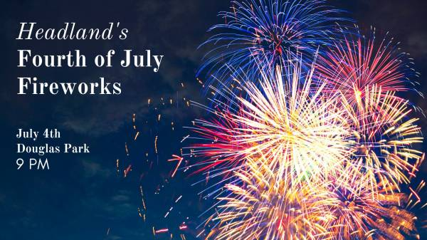 Headland's Annual Fourth of July Fireworks