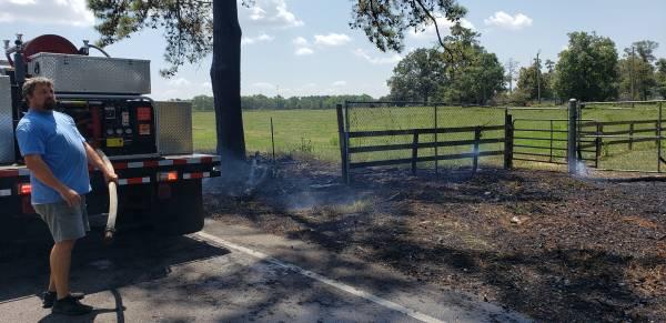 10:35 AM... Grass Fire in Rehobeth