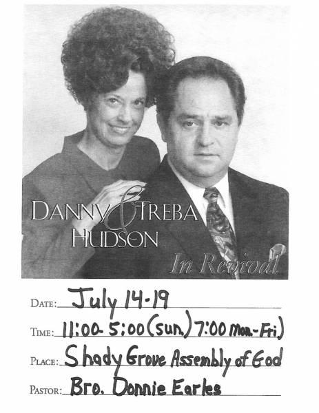 Danny & Treba Hudson in Revival