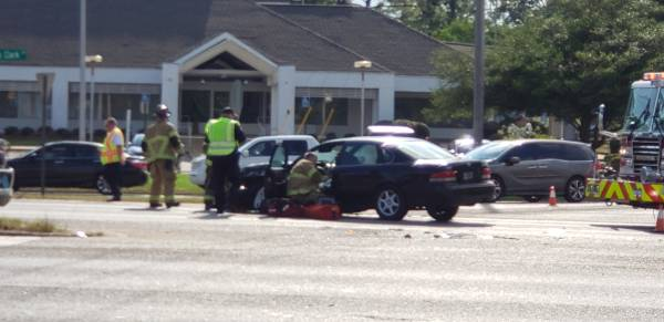 4:59 PM....Motor Vehicle Accident on the Circle at Choctaw
