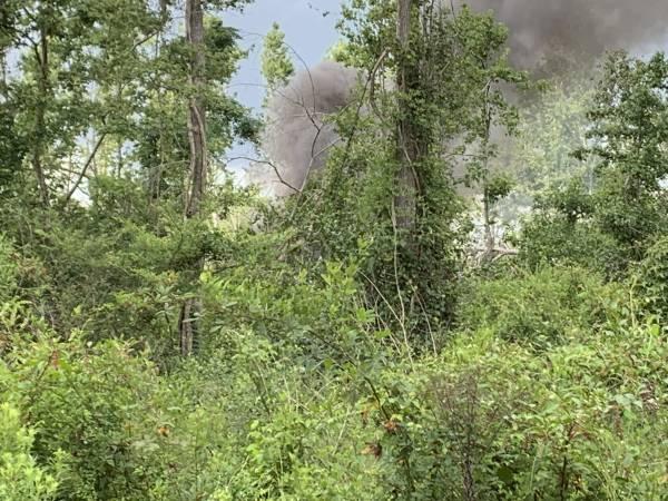 Skidder Fire On Macarthur Road