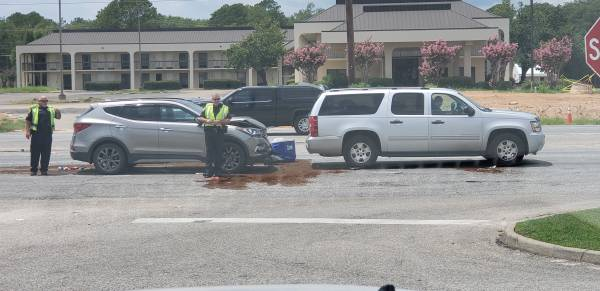 1:00 PM... Motor Vehicle Accident in the 3000 Block of the Circle
