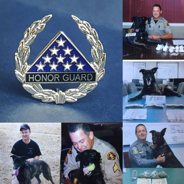 Retired K9 Tarzan of the Houston County Sheriff Passed Away
