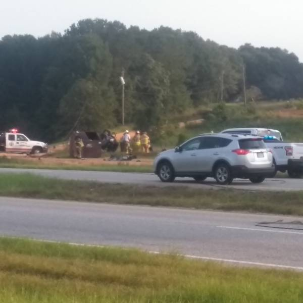UPDATED @ 9:20 AM  6:20 AM... Motor Vehicle Accident with Possible Entrapment Near Midway Assembly Church