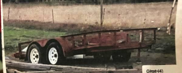 Utility Trailer Stolen on Enon Road in Webb