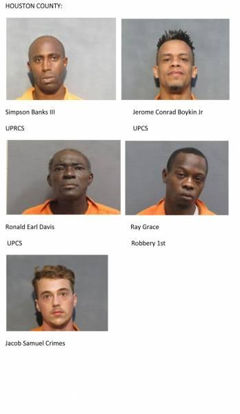 Houston County Mugshots for 8/12/2019