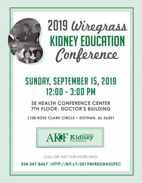 Alabama Kidney Foundation - Kidney Education Conference