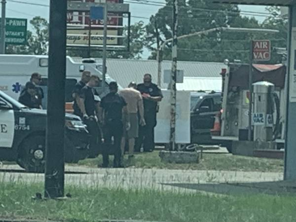 11:15 AM.  Pedestrian Struck By Auto North Park and Montgomery Highway