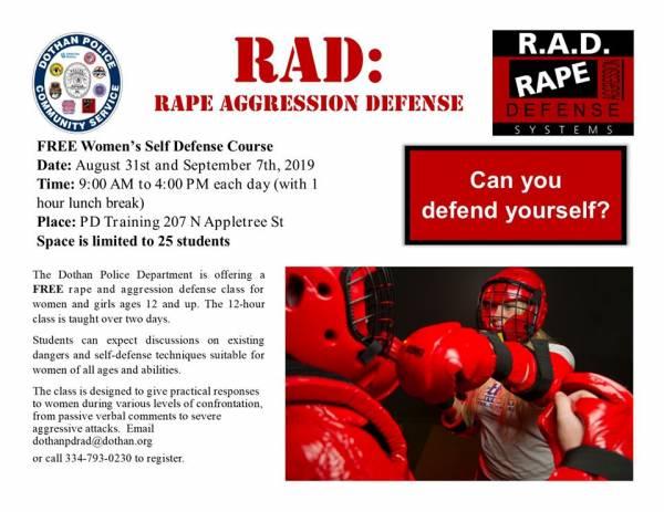Women's Self-Defense Course