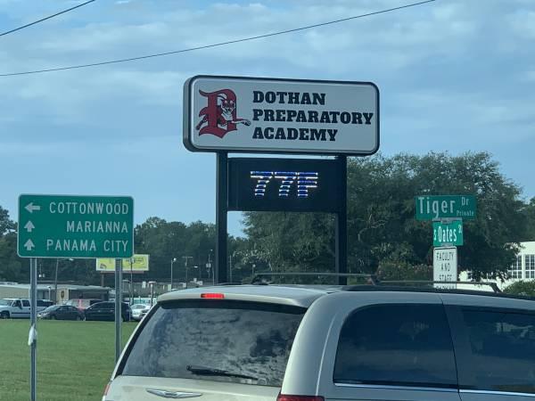 8:28 AM  Dothan Preparatory School Kicks Off