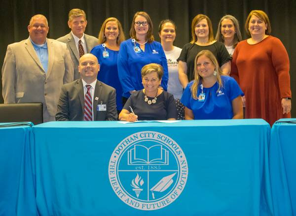 Southeast Health and Dothan City Schools to establish Academy of Health Sciences & Biomedical Science Partnership