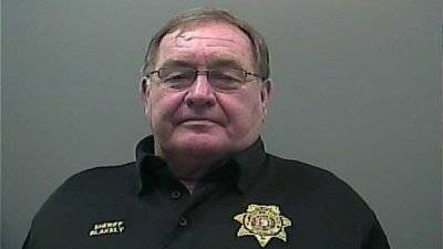 BOOKED IN OWN JAIL     Limestone County Sheriff Mike Blakely indictment on 13 theft, ethics charges