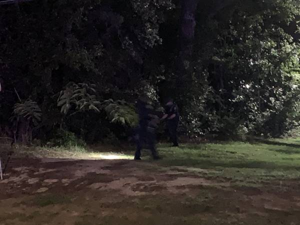 00:55 AM.  Dothan Police In Foot Chase - Westgate Park
