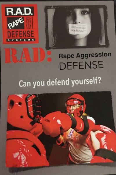 RAD Women's Self-Defense Course Set for August 31