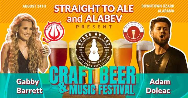 Saturday Afternoon In Downtown Ozark - OZARK ON TAP CRAFT BEER and MUSIC FESTIVAL