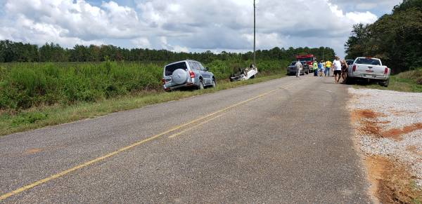 2:10 PM Single Vehicle Accident on Bunton Road