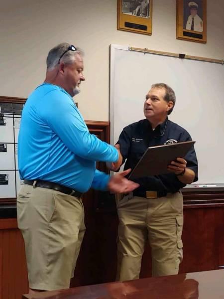 DOTHAN Fire Captain Stacey McAllister Retires