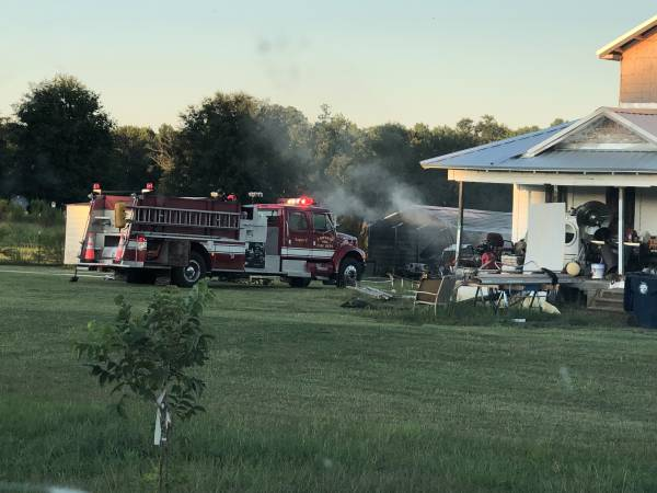 6:23 PM    Structure Fire Cowarts Creek Road