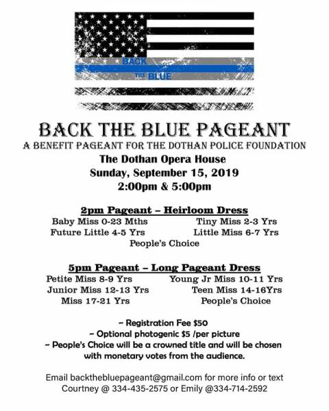 Back The Blue Pageant