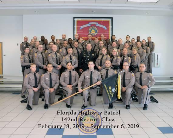 142nd Basic Recruit Class Graduates