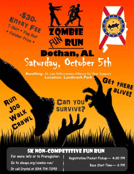 ALLEAPS Zombie Fun Run