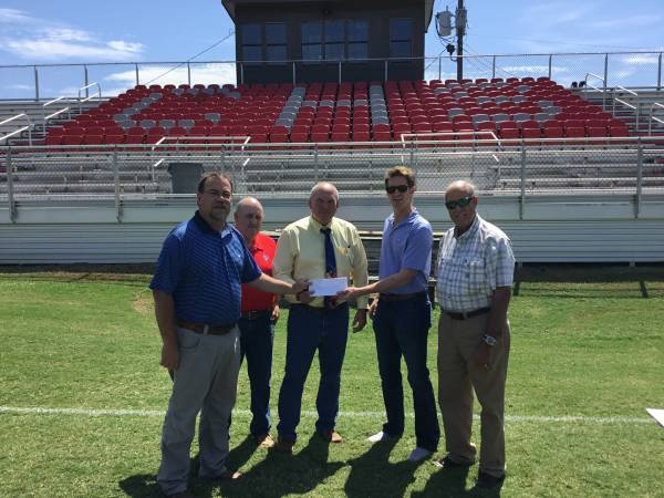 Cottonwood High School Receives a Donation from HEDA and the Houston County Foundation
