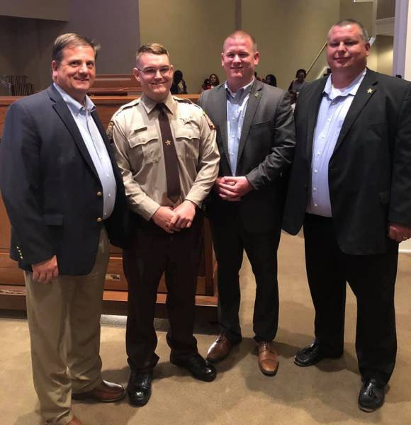 Congratulations to Dale County's Newest  Deputy