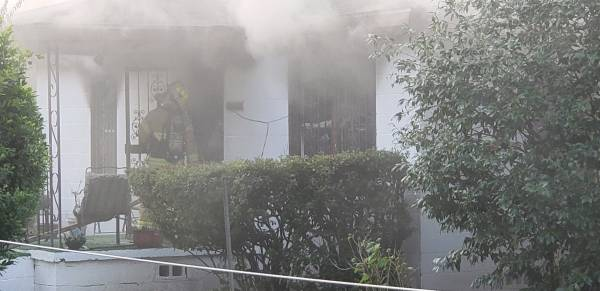7:01 AM... Structure Fire at 110 Wilburn Street