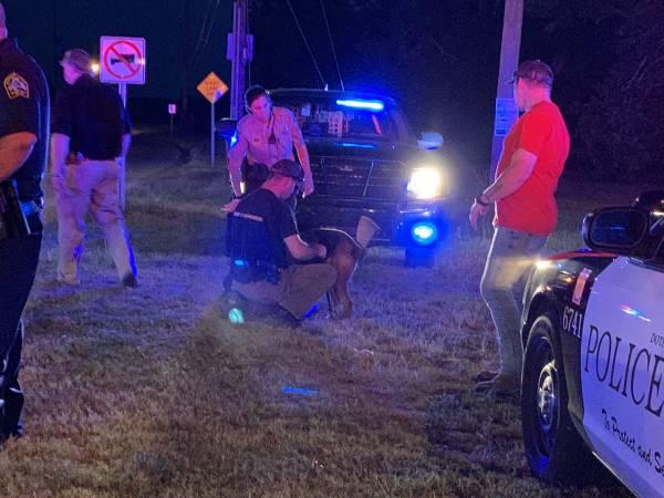 UPDATED @ 9:17 PM     6:45 PM... T-Bone Crash Involving a Houston County Deputy