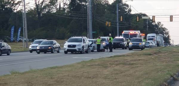 3:51 PM..  Motor Vehicle Accident in the 3700 Block of Montgomery Hwy