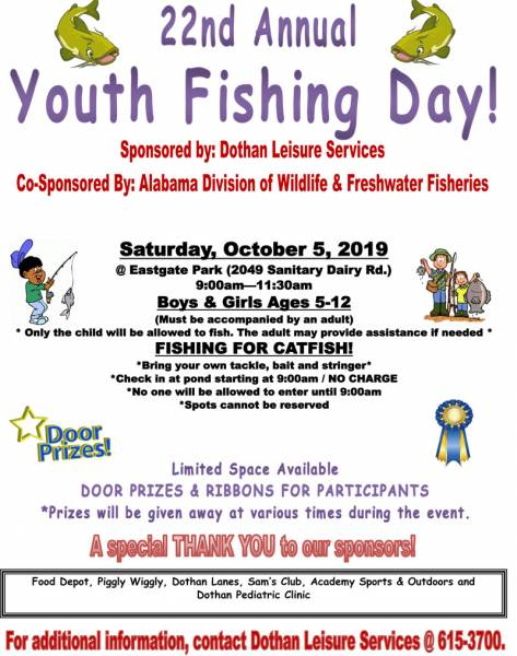 22nd Annual Youth Fishing Day